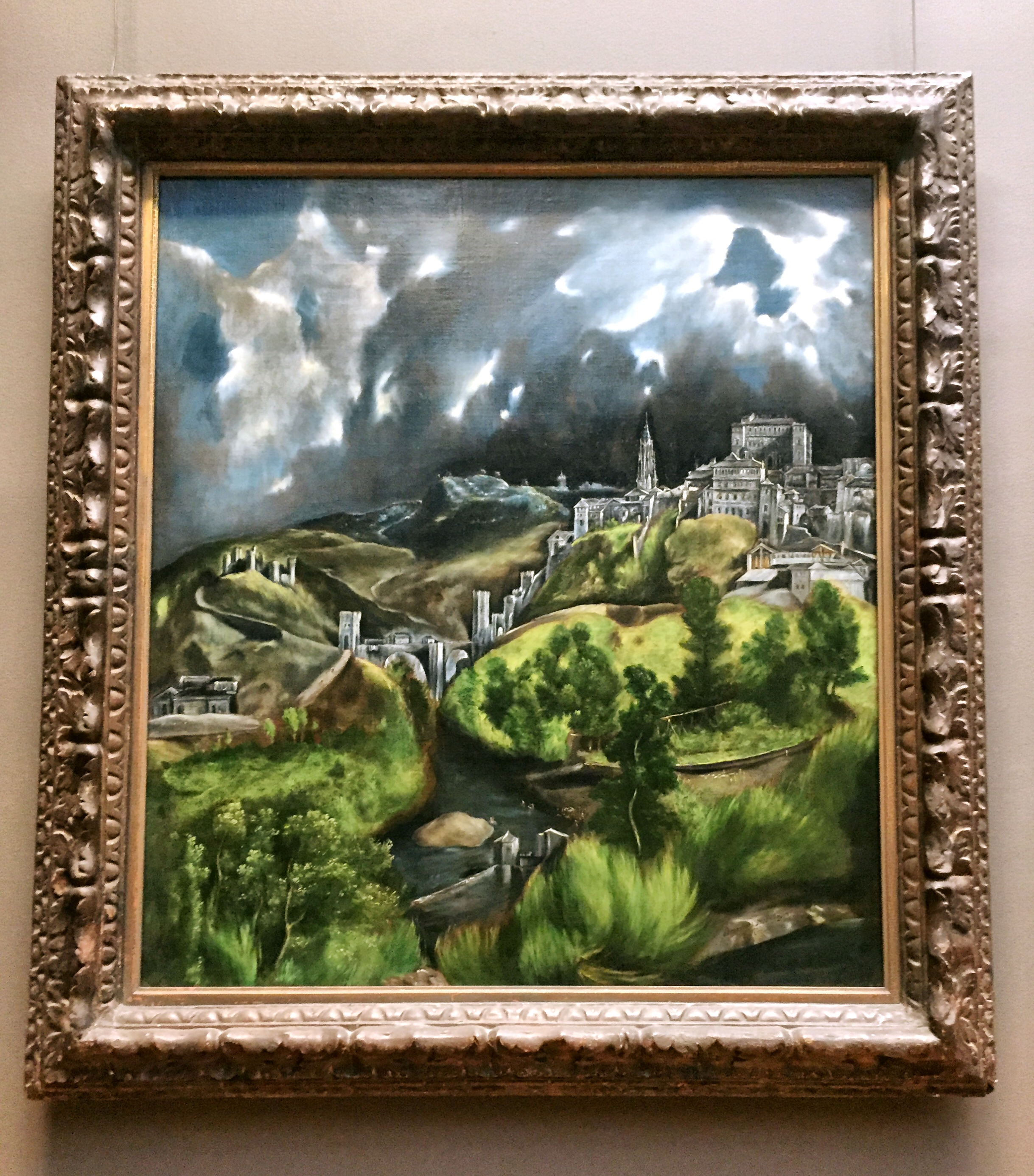 View of Toledo .  El Greco (Domenikos Theotokopoulos)  (Greek, Iraklion (Candia) 1540/41–1614 Toledo) ca. 1598-99. Oil on canvas.