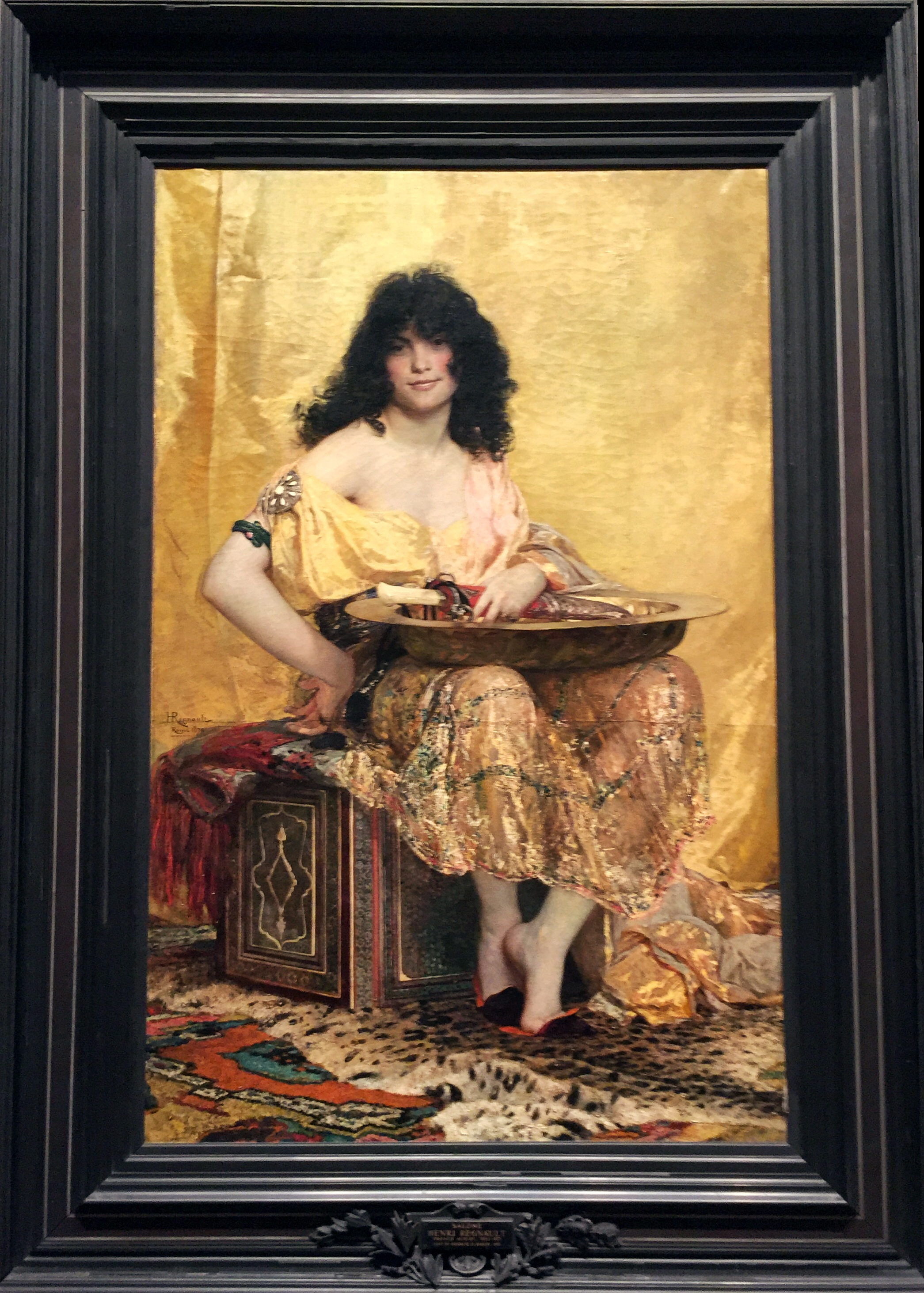 Salomé .  Henri Regnault . (French, Paris 1843–1871 Buzenval) 1870. Oil on canvas.