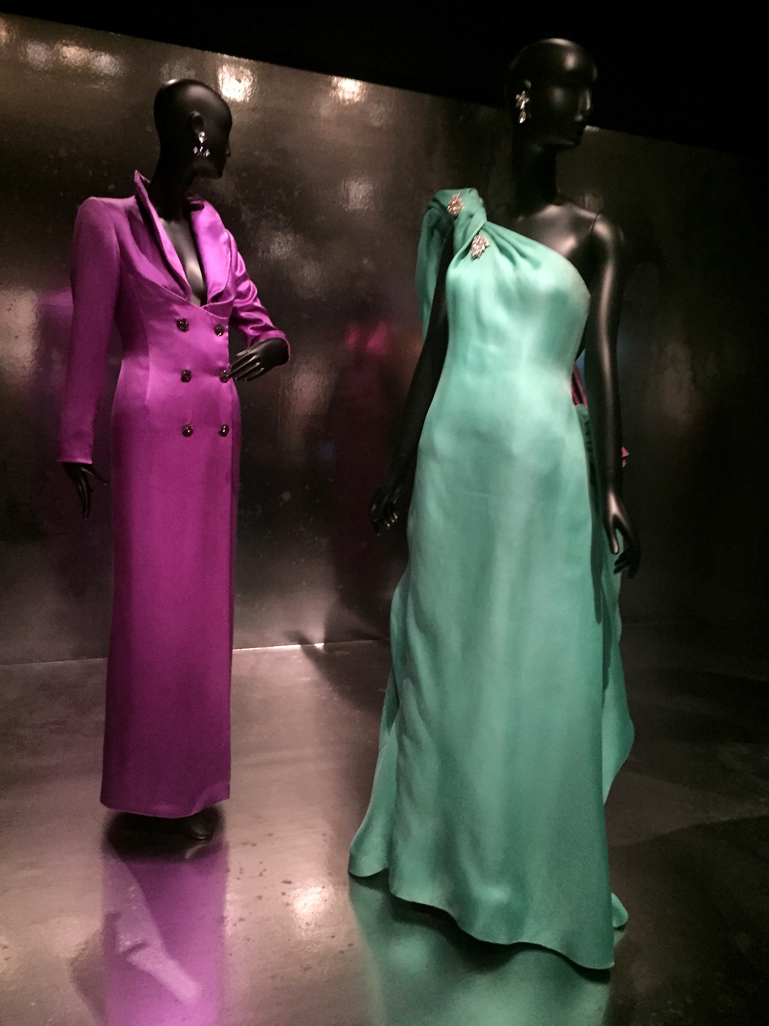 Exquisite colors for evening wear.