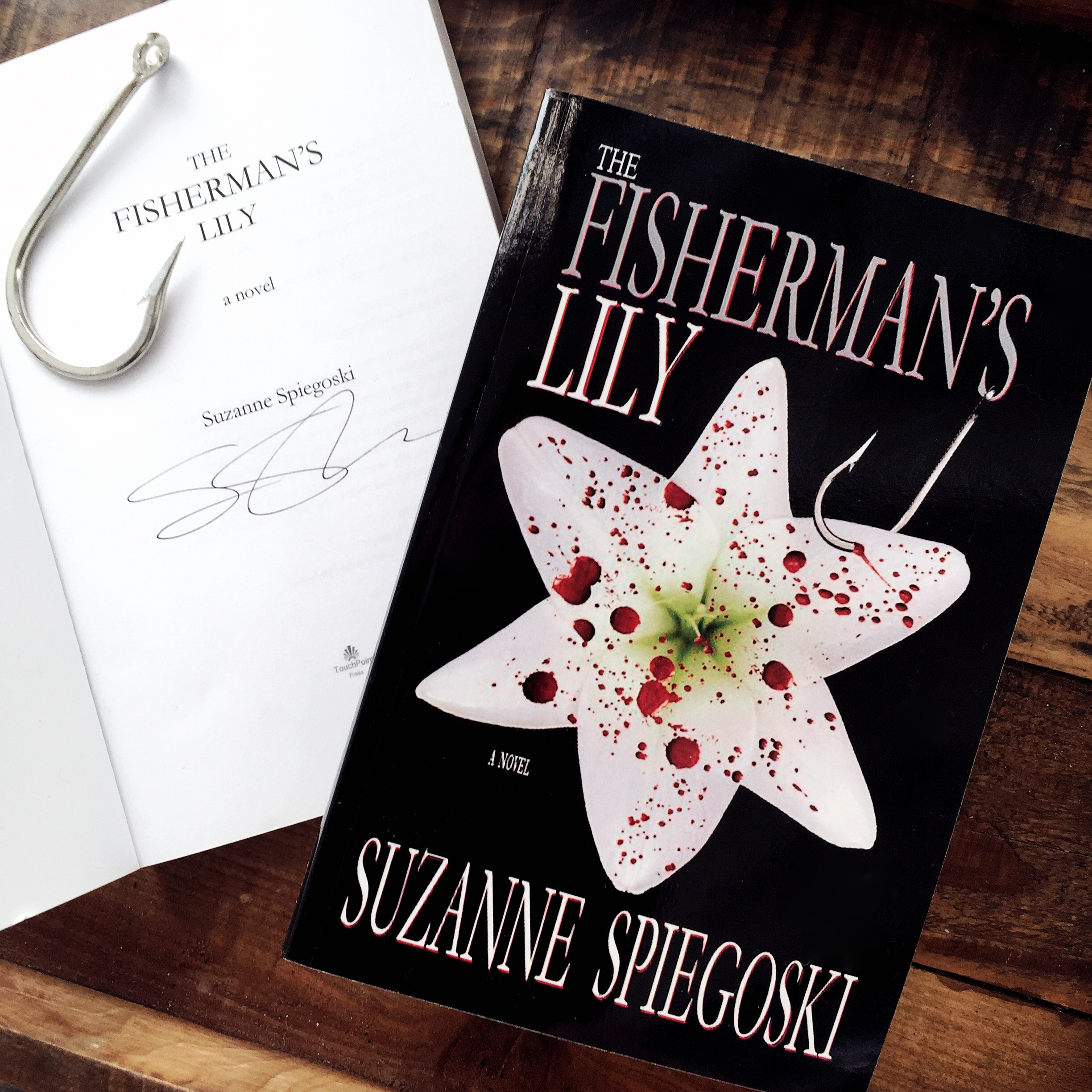 Enter your chance to win a free signed copy of  The Fisherman's Lily  on   Instagram   NOW!