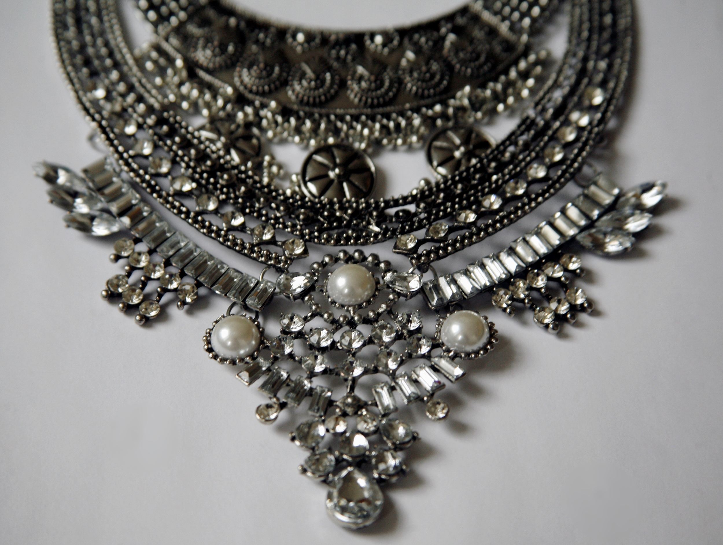 Details from the  Amazon  necklace.