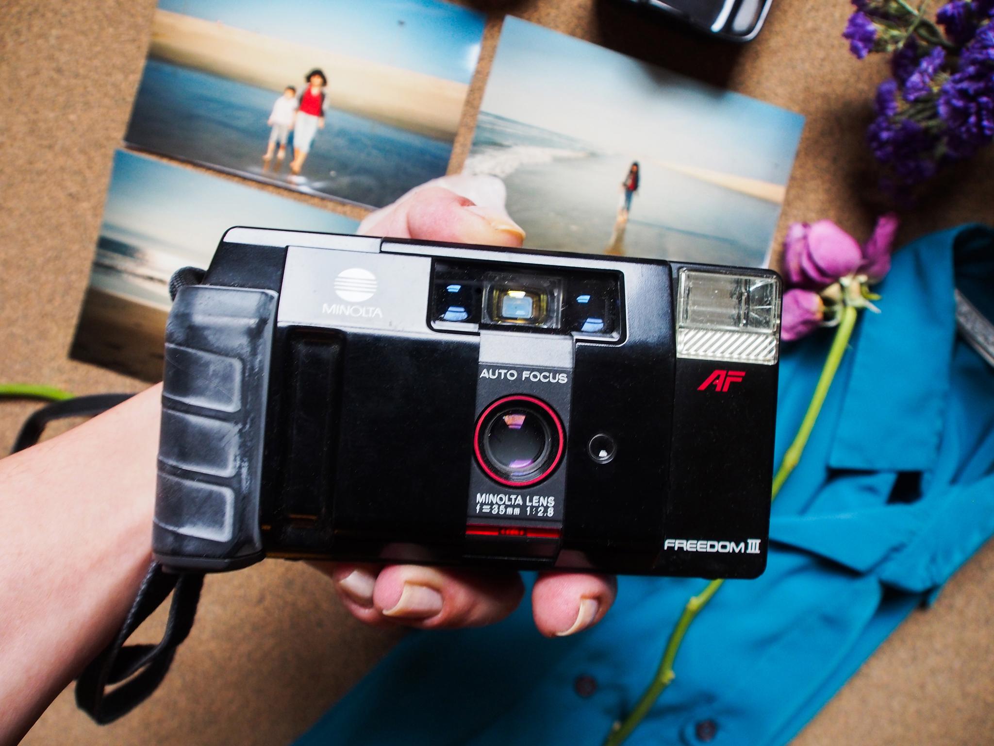 My mother's Freedom III  Minolta  Film Camera 📷.