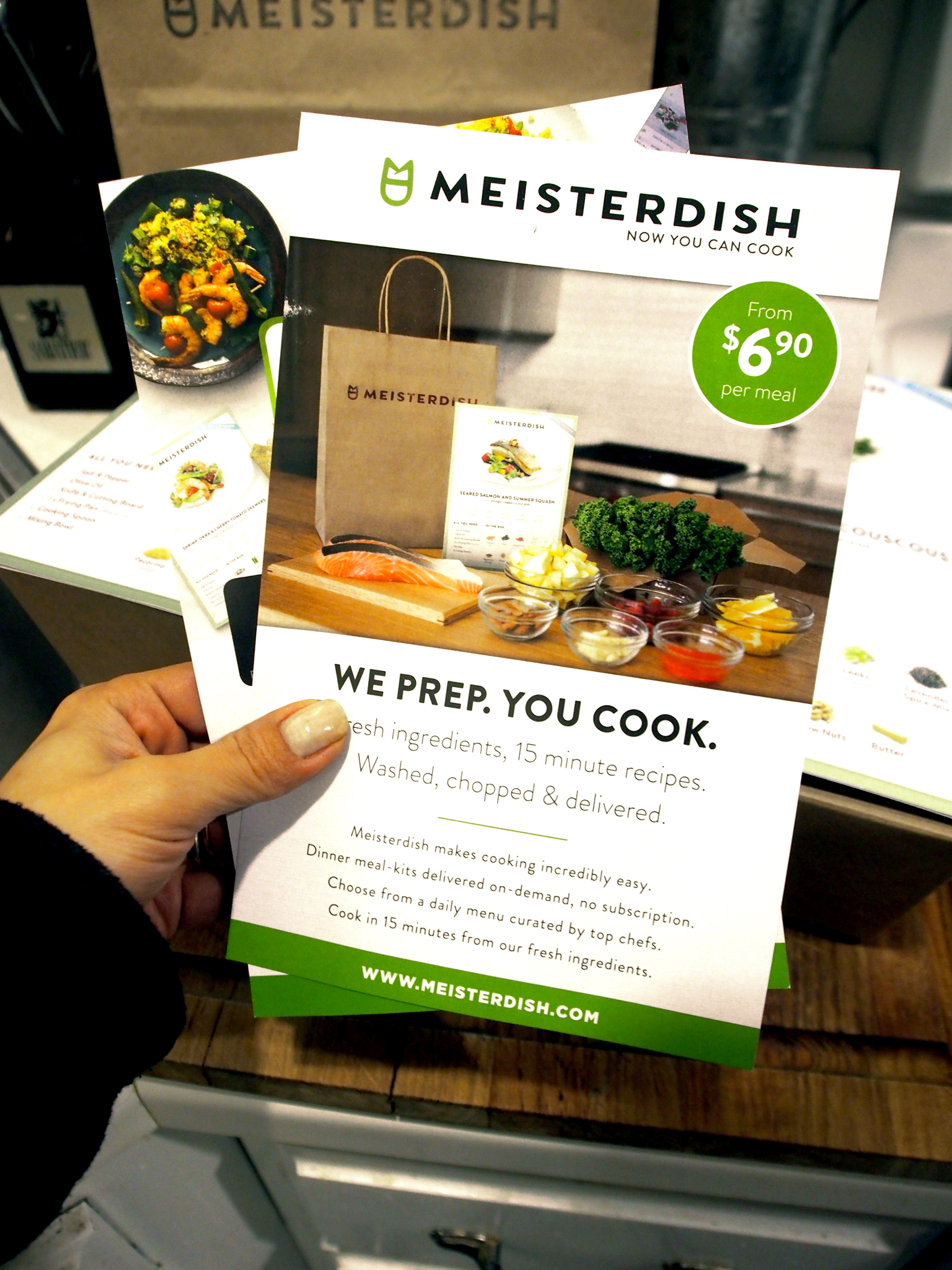 Incredibly easy dinner meal kits delivered on-demand, no subscription.
