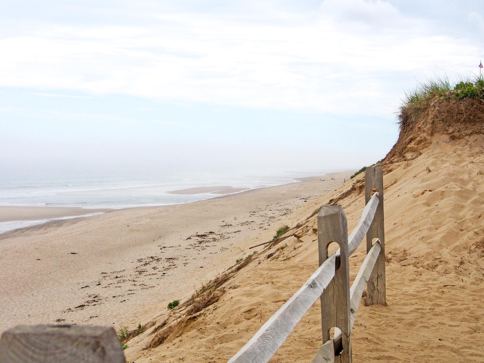 The Beachcomber Beach of Wellfleet.