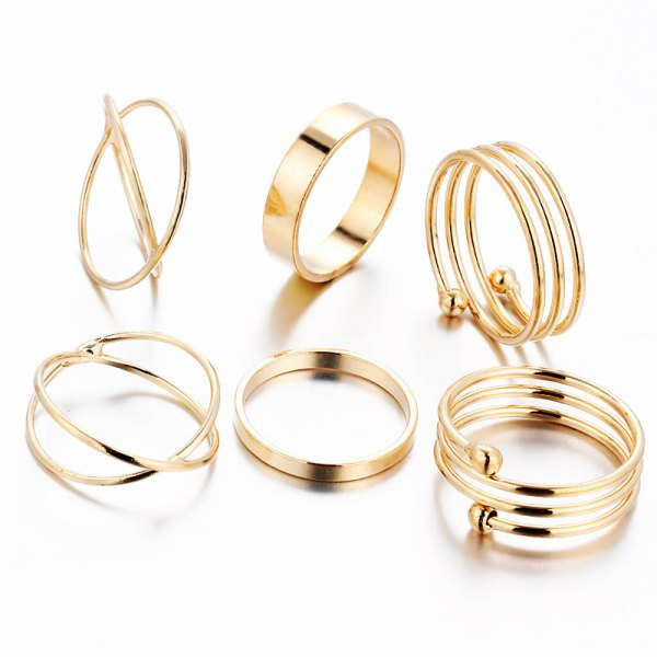 Dress Lily Rings