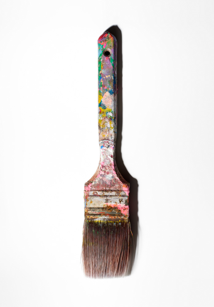 Andy Warhol's paintbrush. (Photograph by  Henry Leutwyler )