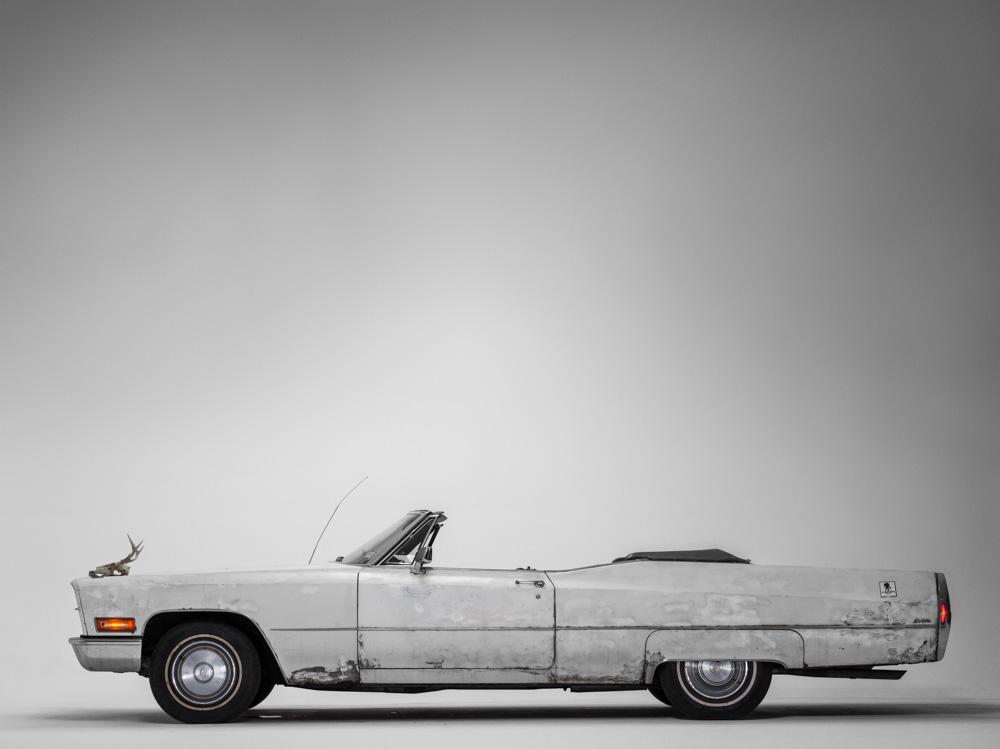 James Gandolfini's Cadillac. (Photograph by  Henry Leutwyler )