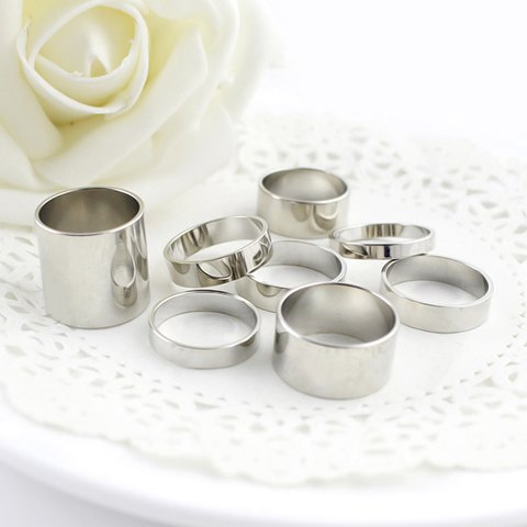 Rosegal Silver Rings