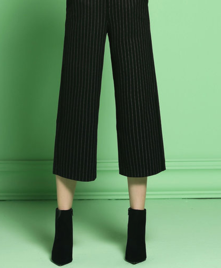 Stylewe Striped Wide Leg Pant