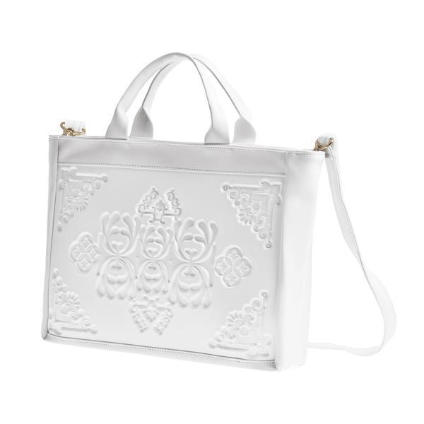Me-Dusa Sofi Crossbody Handbag - White