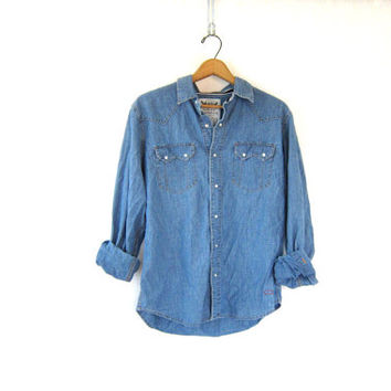 Levi's Men's Denim Shirt