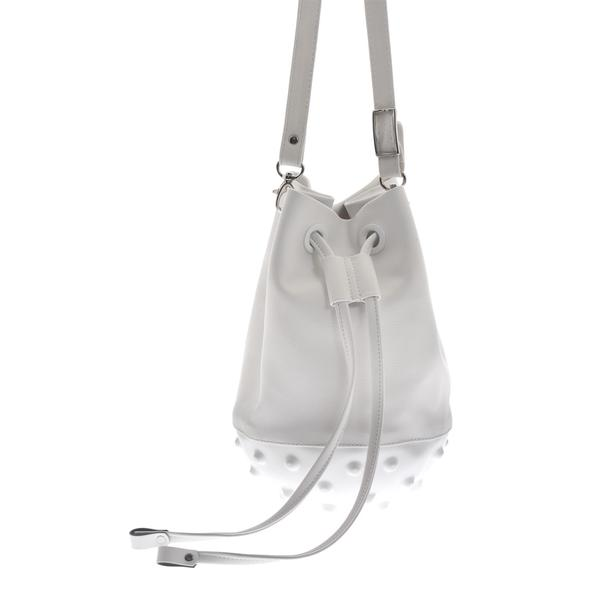 MEDUSA PARIS BUCKET BAG WHITE