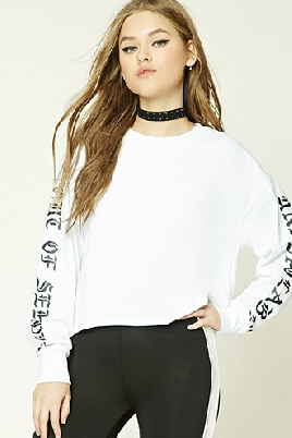 Forever 21 Out of Service Graphic Top