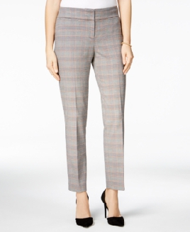 Nine West Plaid Pants