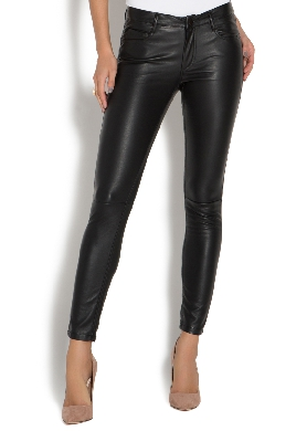 Shoe Dazzle Faux Leather Leggings