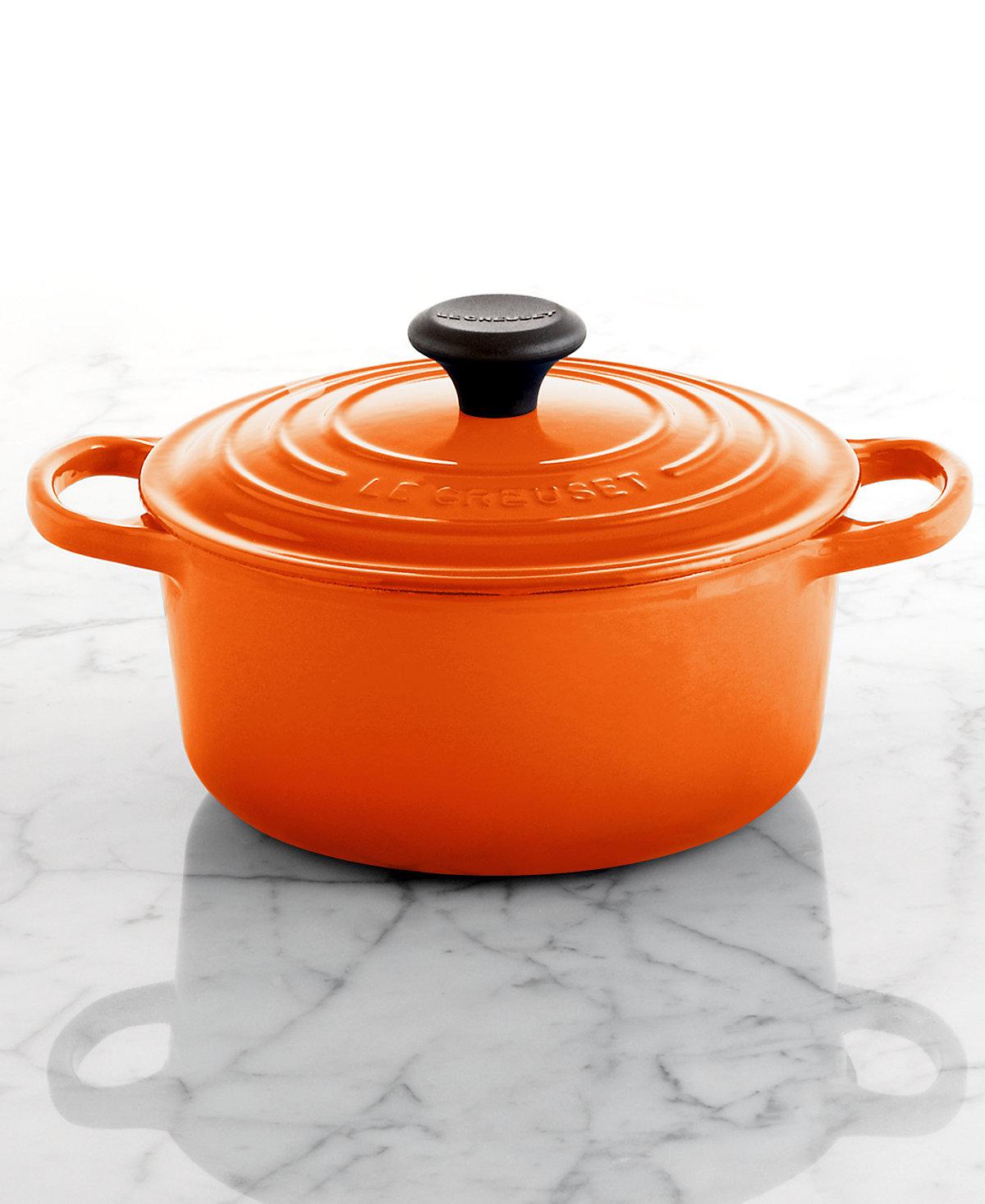 Le Creuset Orange Dutch Oven