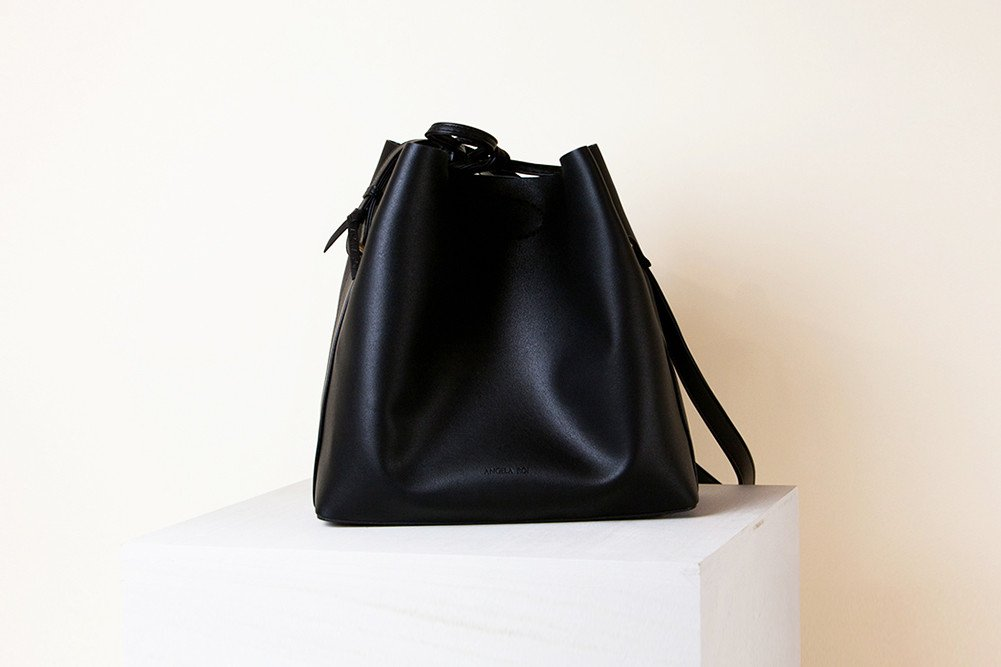 Angela Roi Jules Bucket Bag Black