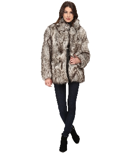 Betsey Johnson Chubby Faux Fur Coat