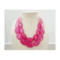 H&M PINK STATEMENT NECKLACE