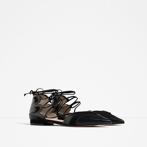 Zara Ballerinas with Straps