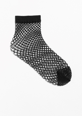 & Other Stories Black Fishnet Socks