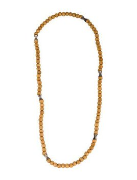 Robert Lee Morris Wooden Bead Necklace