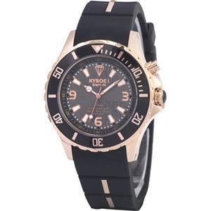Kyboe! Black Rose Gold Watch