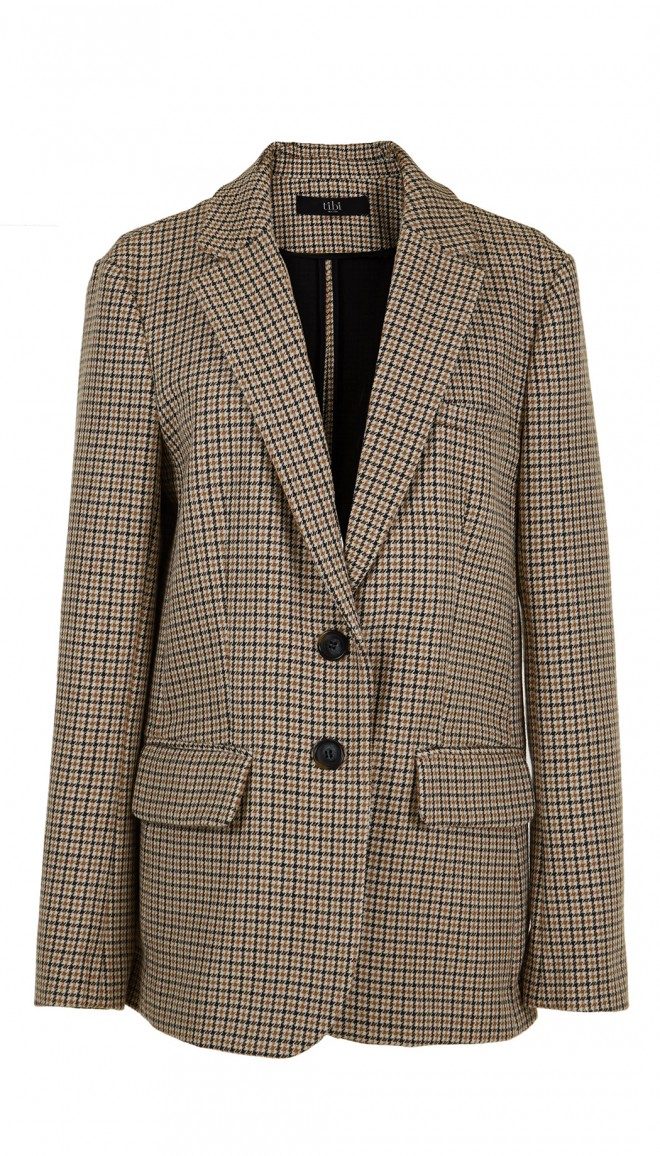 Tibi Houndtooth Jacket