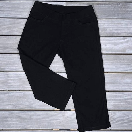 Mad-Style Black Capri Pants
