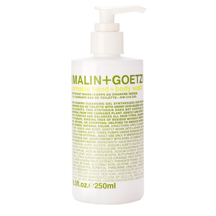Malin & Goetz Cannabis Hand & Body Wash