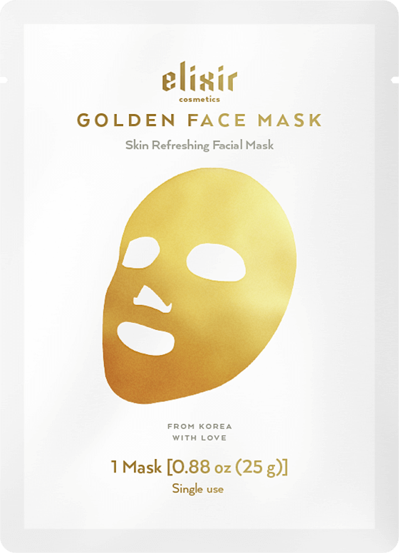 Elixir Golden Face Mask