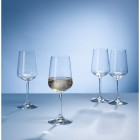 Villeroy & Boch Ovid 4-Piece White Wine Set
