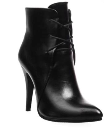 DRESS LILY POINTED TOE HEEL BOOTS