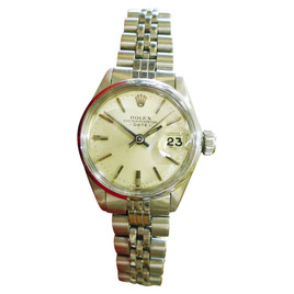 Rolex Oyster Perpetual Date Watch Women's