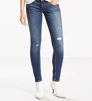 Levi's 711 Altered Skinny Jeans