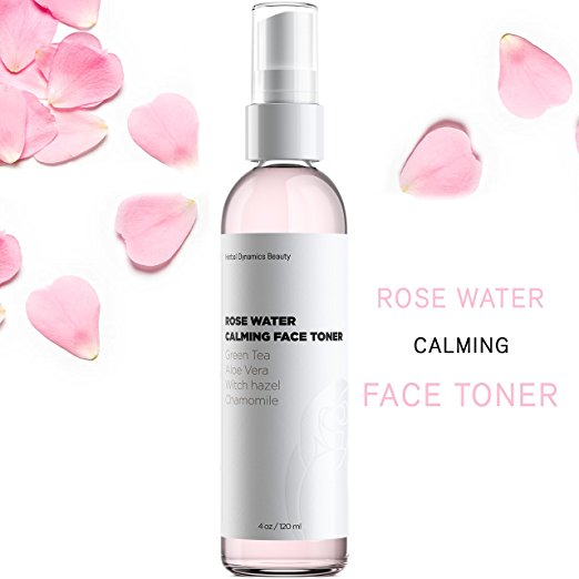 Herbal Dynamics Beauty Rose Water Calming Face Toner