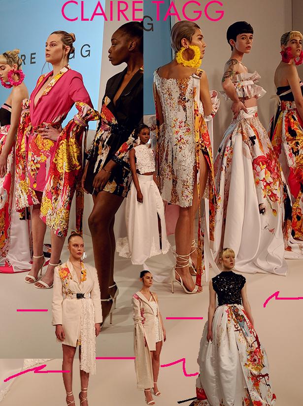 Claire Tagg fashion designer
