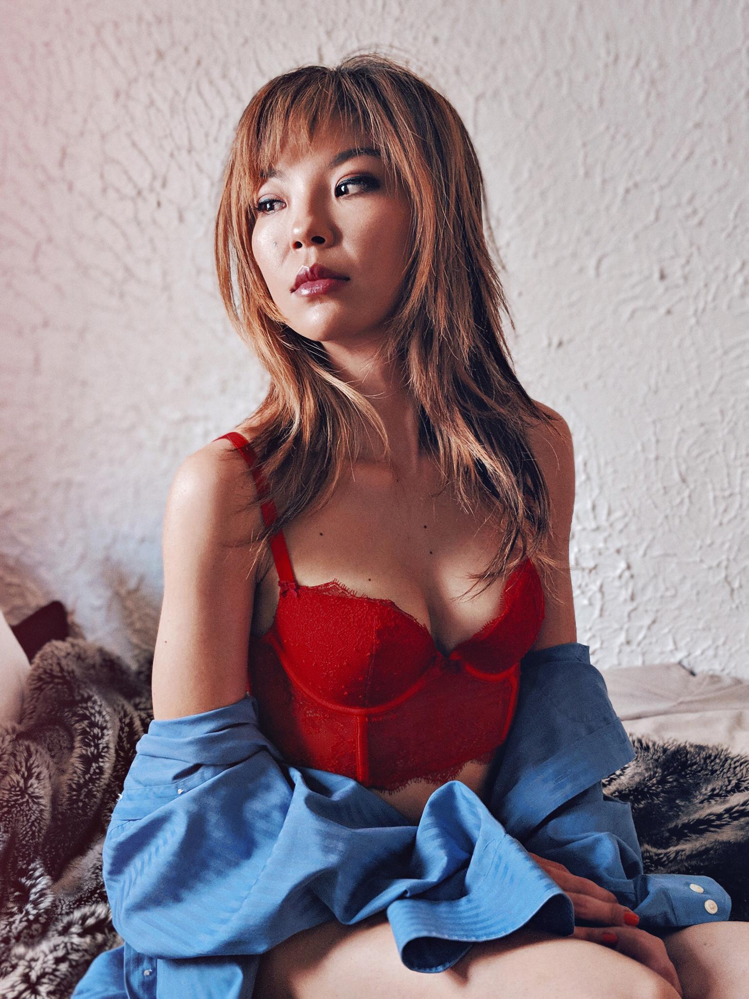 Model Boudoir Portrait
