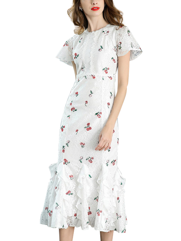 Metisu white dress