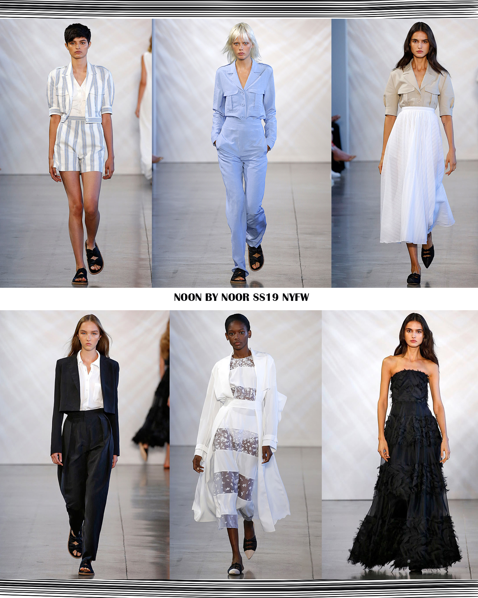Noon by Noor NYFW