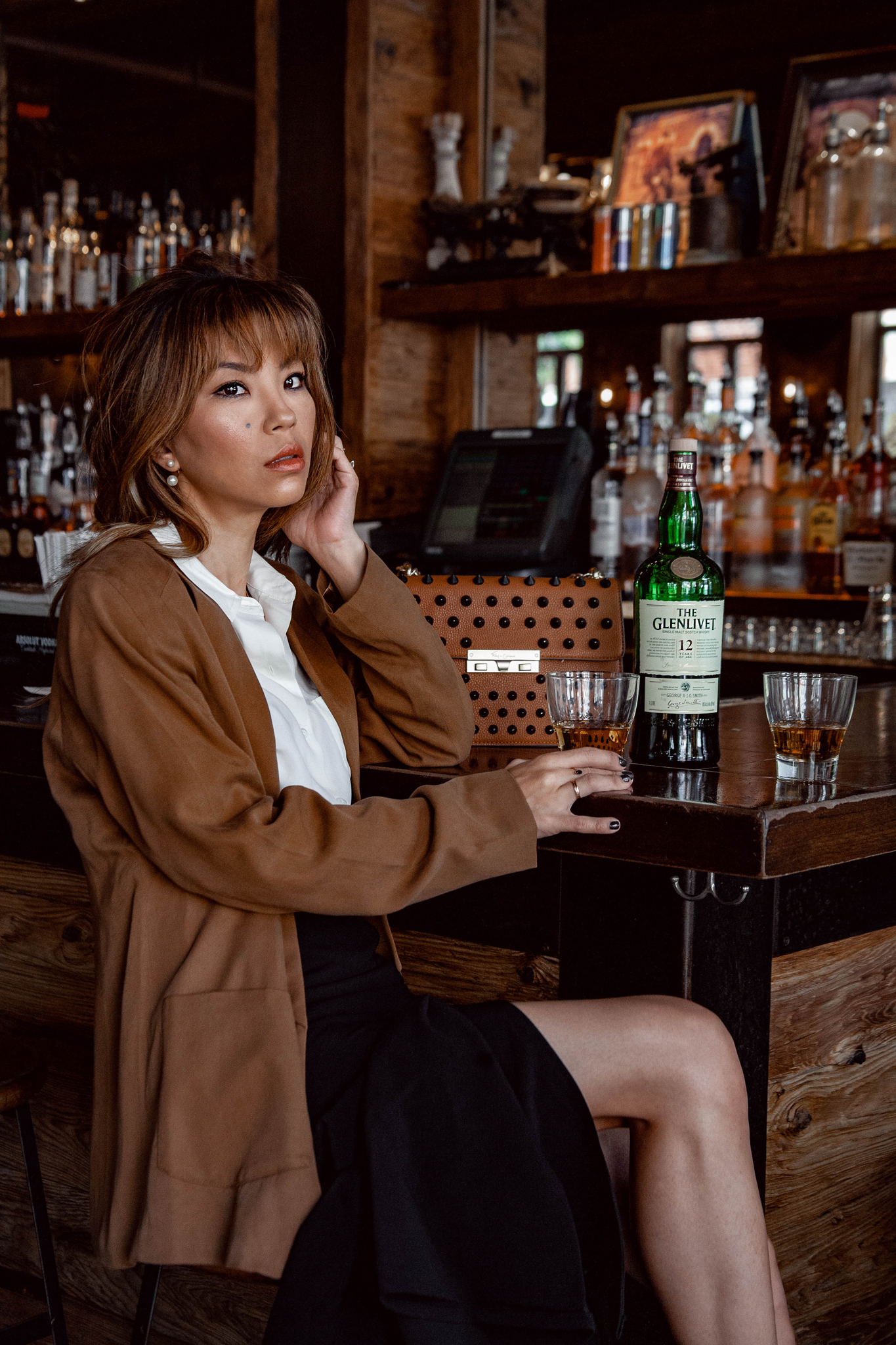 Cocktail hour girl