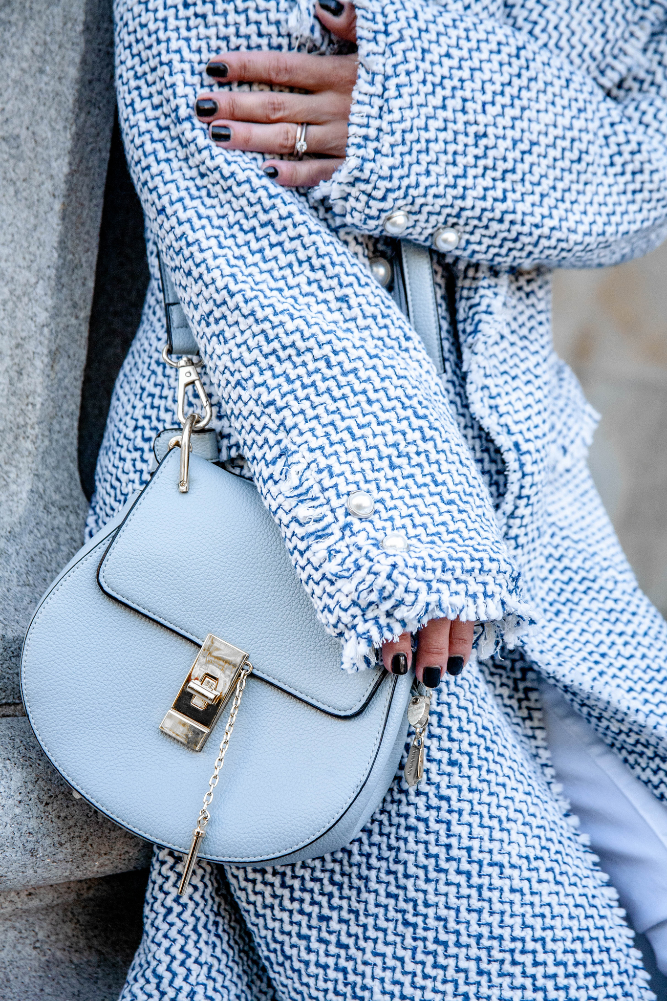Blue Chloe Bag