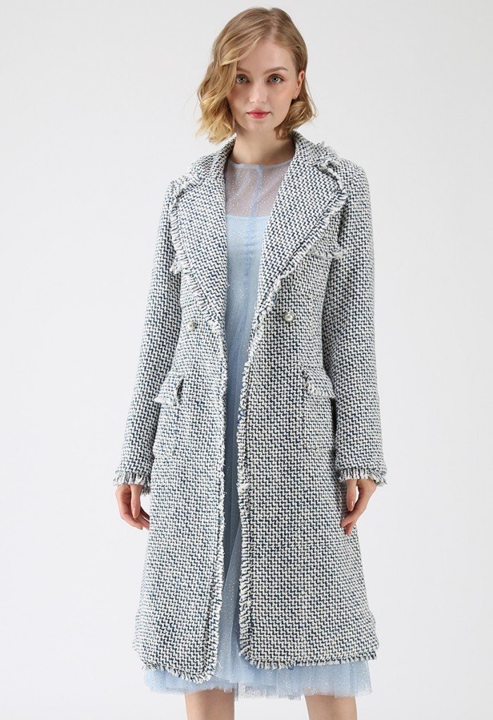 Chicwish tweed coat