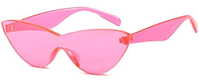 Pink cateye sunglasses
