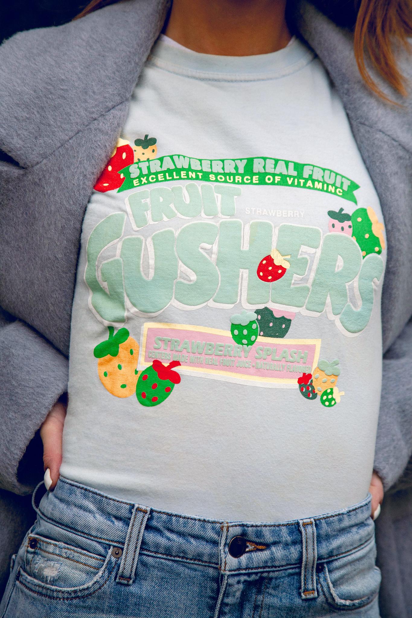 Vintage Fruit Gushers tee