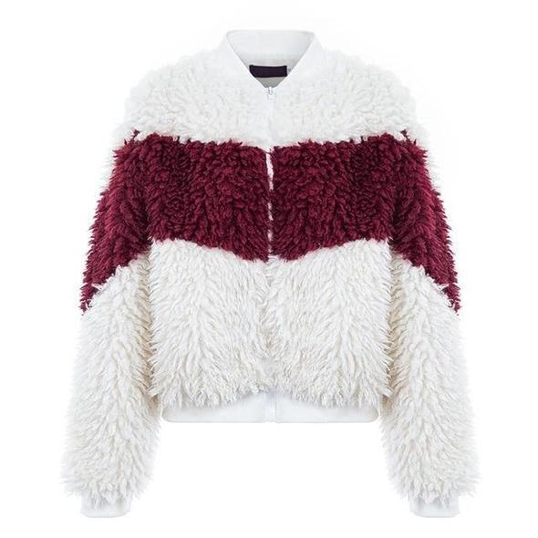 Red White Jacket