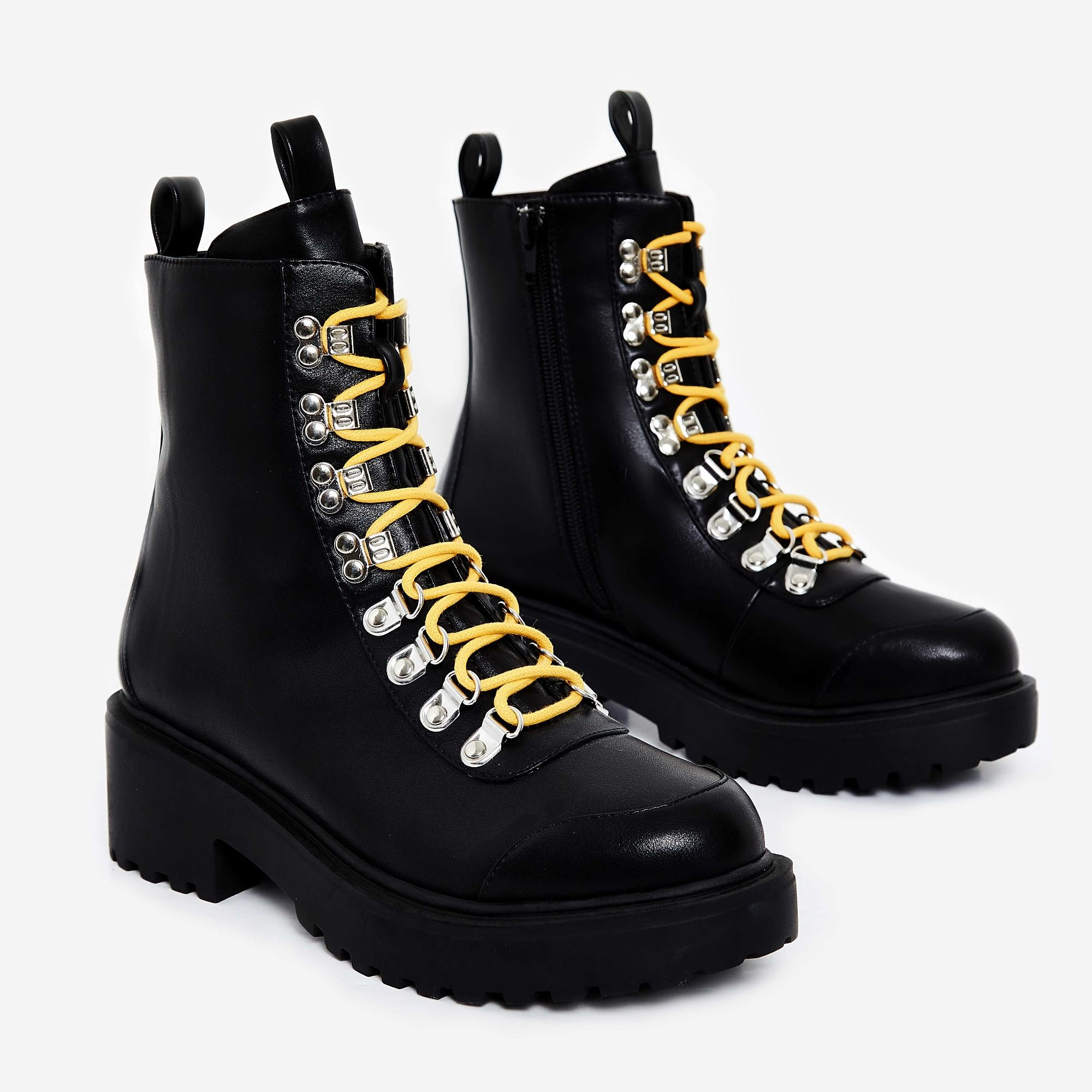 Ego combat boots