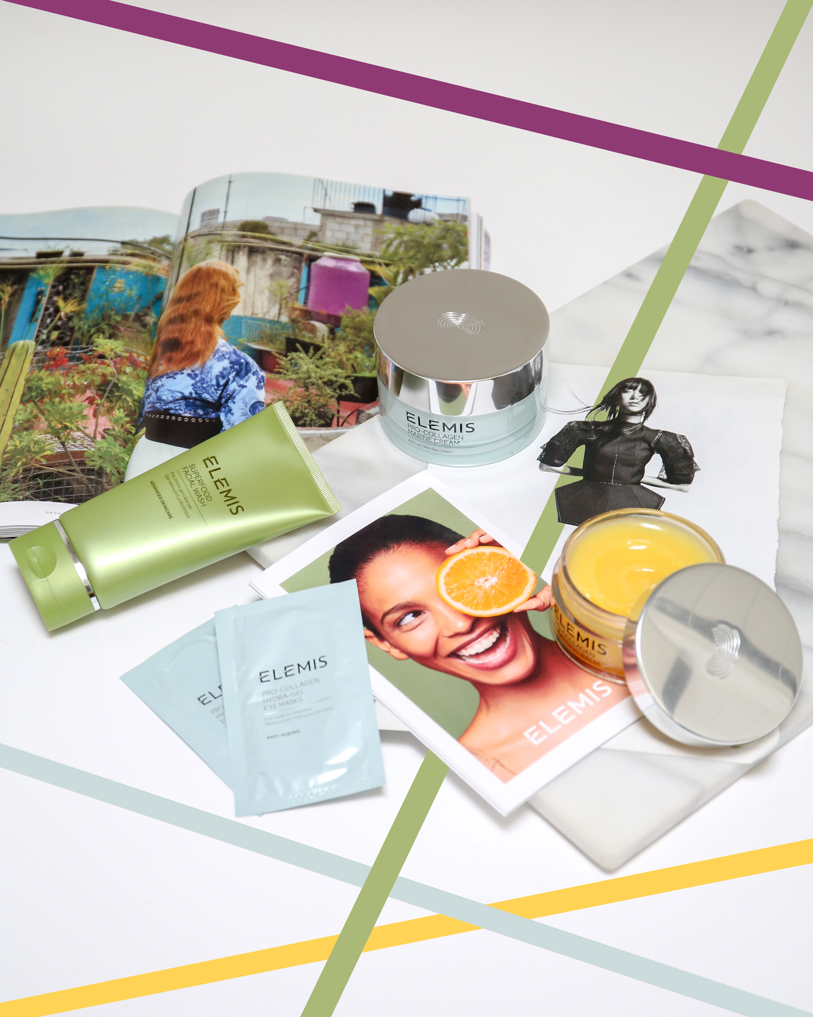 Elemis skincare products