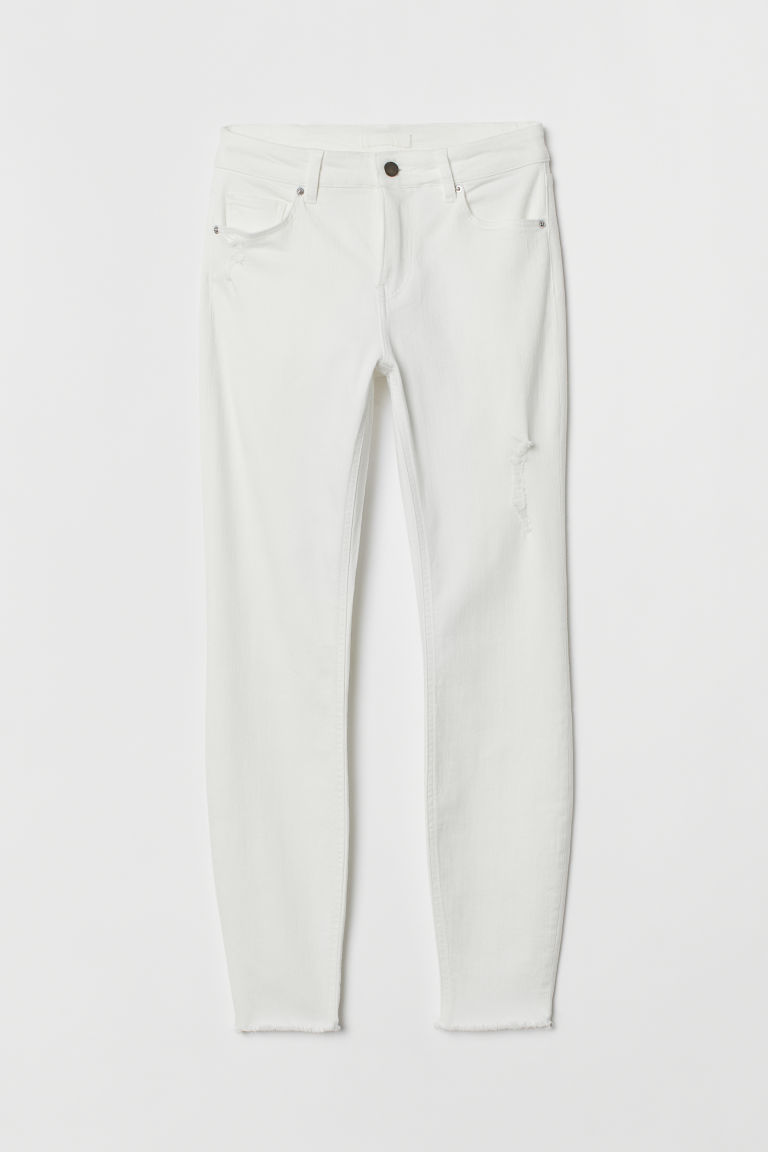 H&M white pants