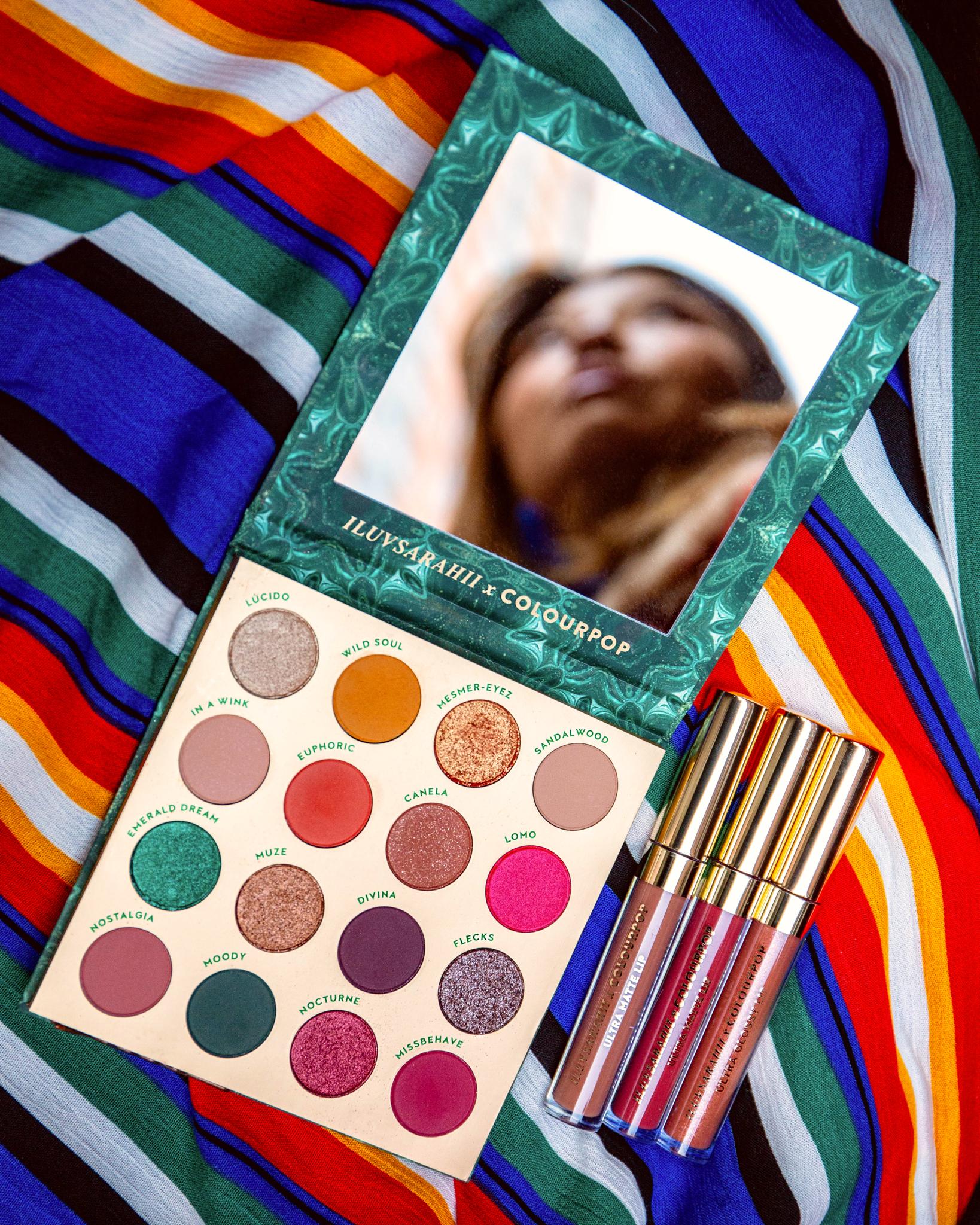 Colourpop iluvsarahii palette